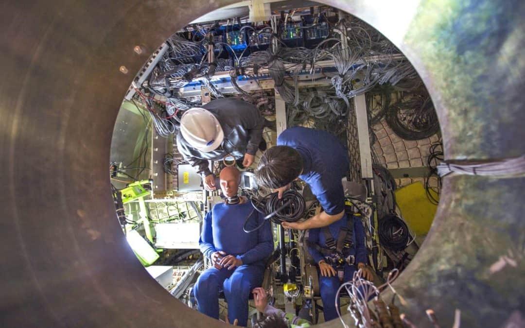 DTS Data Recorders Help NASA Assess Splashdown Impact on Orion Crew