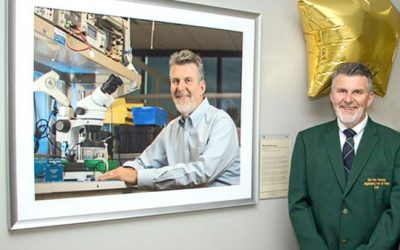 Engineering Hall of Fame Inducts Mike Beckage