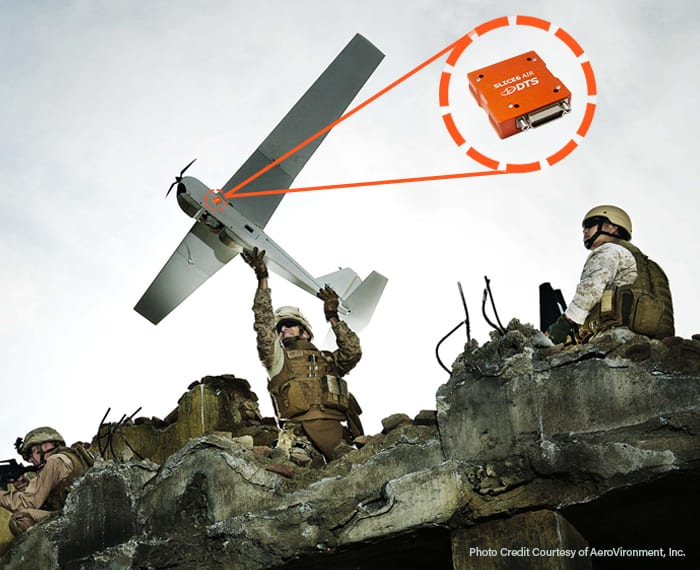 UAV Drone SLICE6 AIR Application